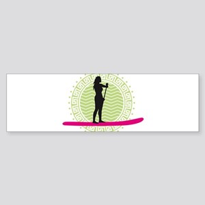stand up paddling Bumper Sticker