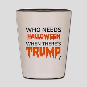 Halloween Trump Shot Glass