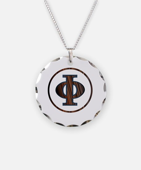 Funny Greek letters Necklace