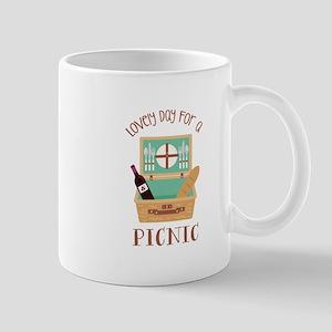 Lovely Day Picnic Mugs