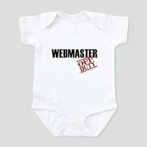 Off Duty Webmaster Infant Bodysuit