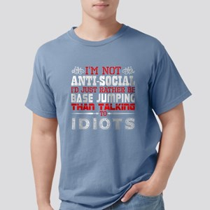 Im Not Antisocial Id Just Rather Be Base J T-Shirt