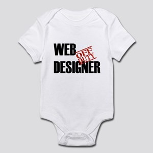Off Duty Web Designer Infant Bodysuit