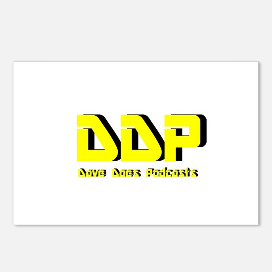 Dave Does Podcasts Postcards (Package of 8)