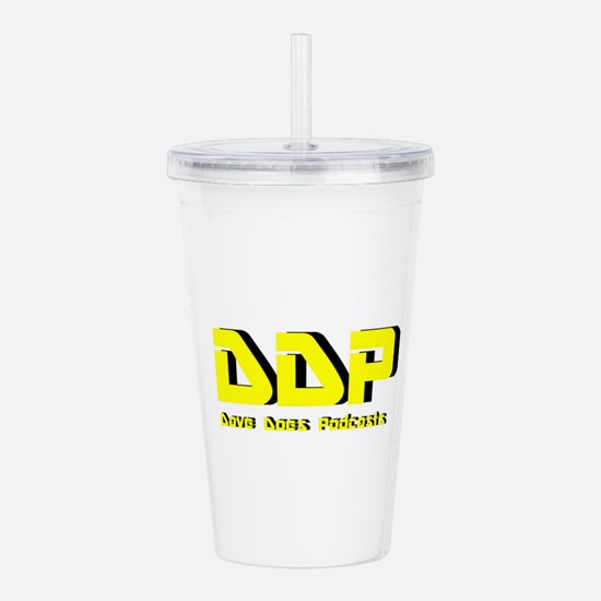 Dave Does Podcasts Acrylic Double-wall Tumbler