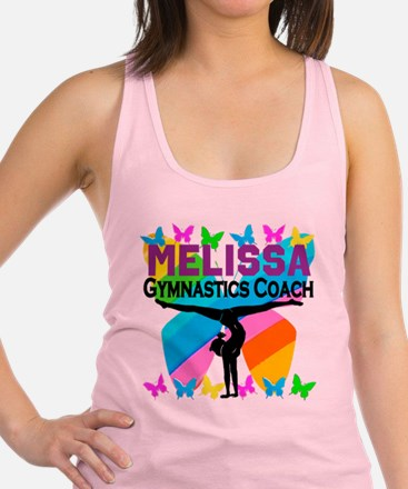 GYMNAST COACH Racerback Tank Top