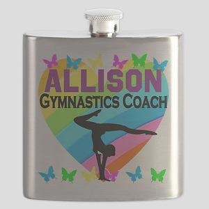 GYMNAST COACH Flask