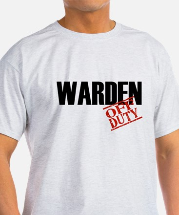 Off Duty Warden T-Shirt