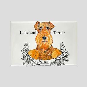 Lakeland Terrier Dog Banner Rectangle Magnet