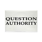 Question Authority Rectangle Magnet (10 pack)