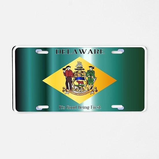 Copy Aluminum License Plate