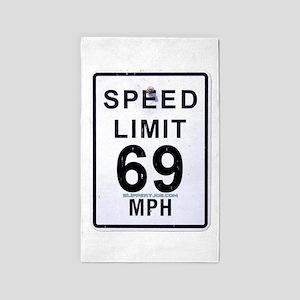 Speed-6 Area Rug