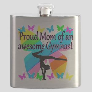 GYMNAST MOM Flask