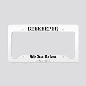 Charlotte Beekeeper License Plate Holder
