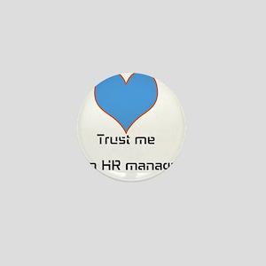 HR manager Mini Button