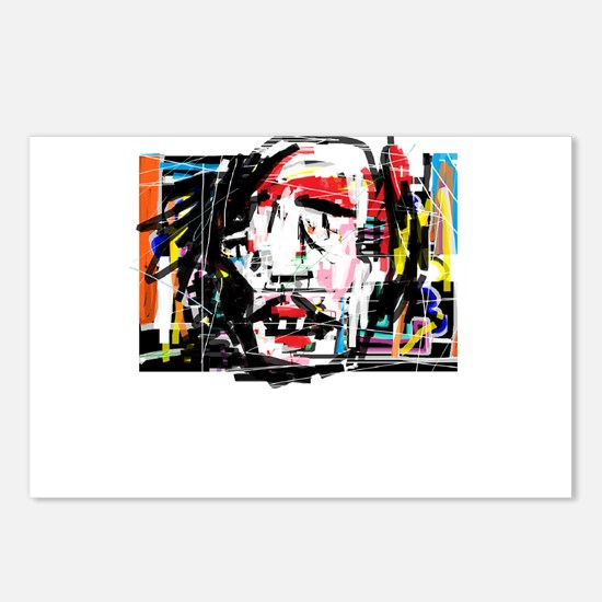 Picasso Cubist Clown Postcards (Package of 8)