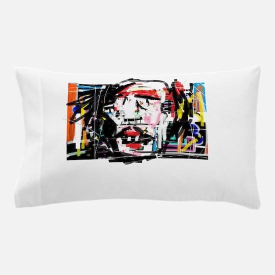 Picasso Cubist Clown Pillow Case