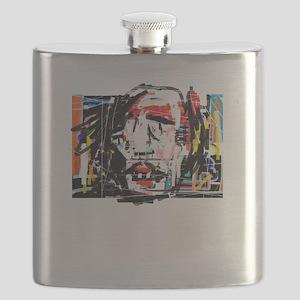 Picasso Cubist Clown Flask