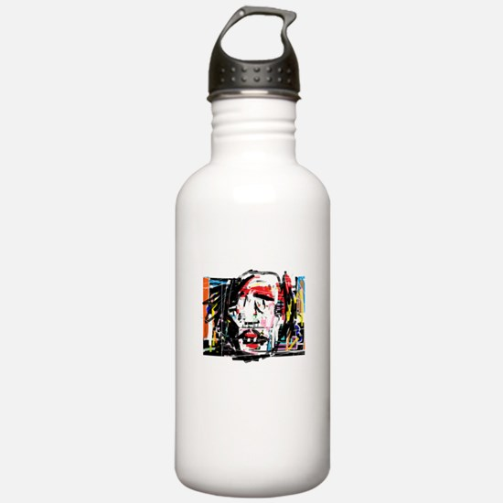 Picasso Cubist Clown Water Bottle