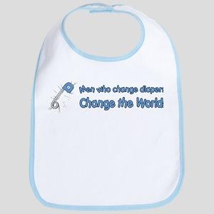 Change Diapers, Change The World Bib