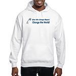 Change Diapers, Change The World Hooded Sweatshirt