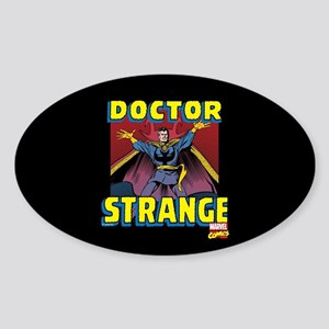 Doctor Strange Panels Full Bleed Sticker