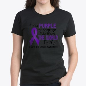 Pancreatic Cancer MeansWorldToMe2 T-Shirt