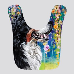 Bernese Mountain Dog Painting Bib