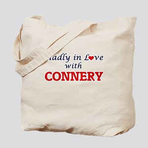 Madly in love with Connery Tote Bag