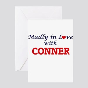Madly in love with Conner Greeting Cards