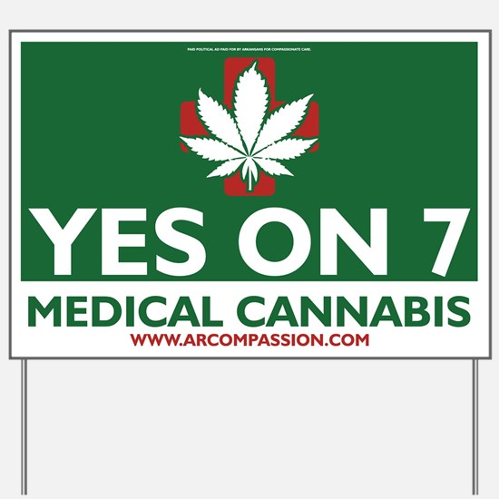 Arkansas Issue #7 Logo Yard Sign