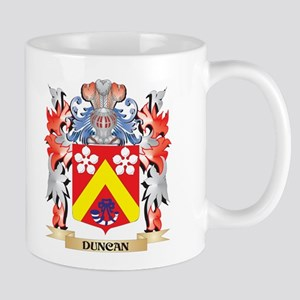 Duncan Coat of Arms - Family Crest Mugs