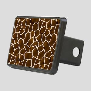 Giraffe Spots Faux Fur Pattern Hitch Cover