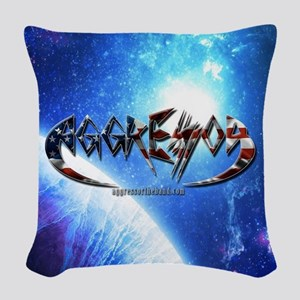Space Woven Throw Pillow