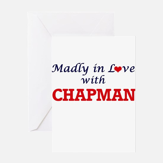 Madly in love with Chapman Greeting Cards