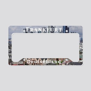 Frankfurt License Plate Holder