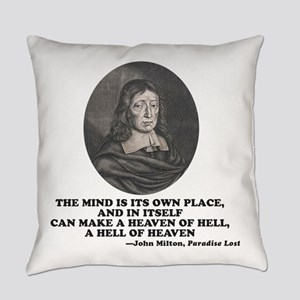 Milton Paradise Lost Heaven of Hel Everyday Pillow