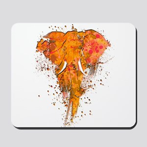 Artistic Elephant Art Mousepad