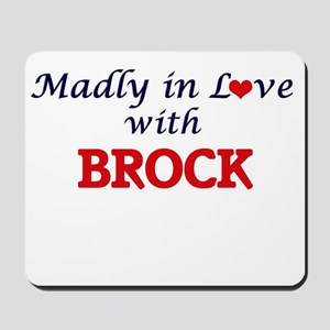 Madly in love with Brock Mousepad
