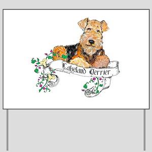 Lakeland Terrier - Good Dog! Yard Sign