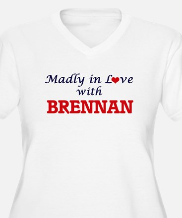 Madly in love with Brennan Plus Size T-Shirt
