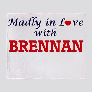 Madly in love with Brennan Throw Blanket