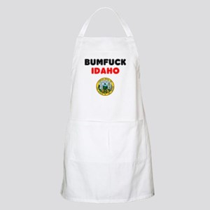 BUMFUCK - IDAHO! Light Apron