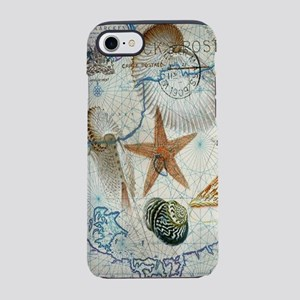 nautical beach sea shells iPhone 8/7 Tough Case