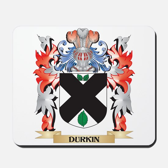 Durkin Coat of Arms - Family Crest Mousepad