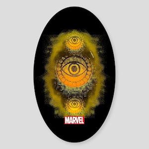 Doctor Strange Symbol Sticker (Oval)