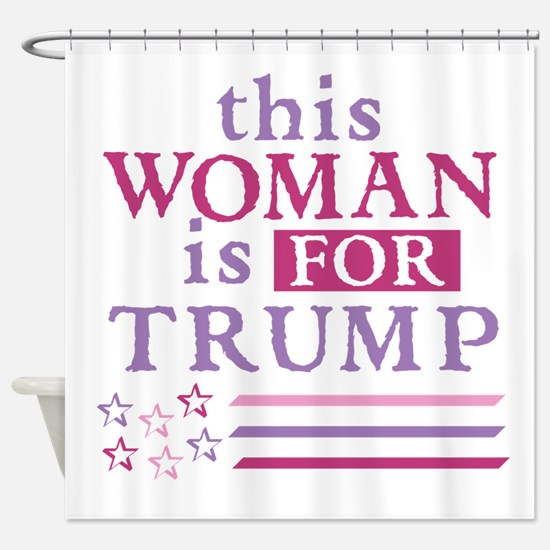 FOR Trump Shower Curtain