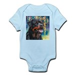 Rottweiler Painting Body Suit