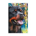 Rottweiler Painting Posters