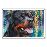 Rottweiler Painting Banner